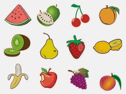 Frutas En Ingles Para Niños De Primaria